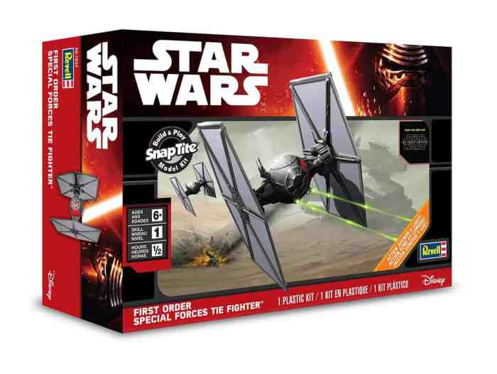 TIE Fighter scale model from Star Wars: Episode VII The Force Awakens by Revell, Mr. Media Interviews