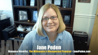 Today's Guest: Today's Guest: Jane Peden, romance novelist, The Millionaire's Unexpected Proposal   Watch this exclusive Mr. Media interview with romance novelist Jane Peden by clicking on the video player above! ...
