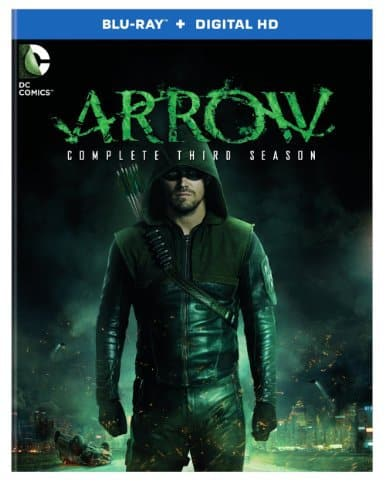 Arrow: Season 3 [Blu-ray] starring Stephen Amell, Arrow showrunner Marc Guggenheim, Mr. Media Interviews