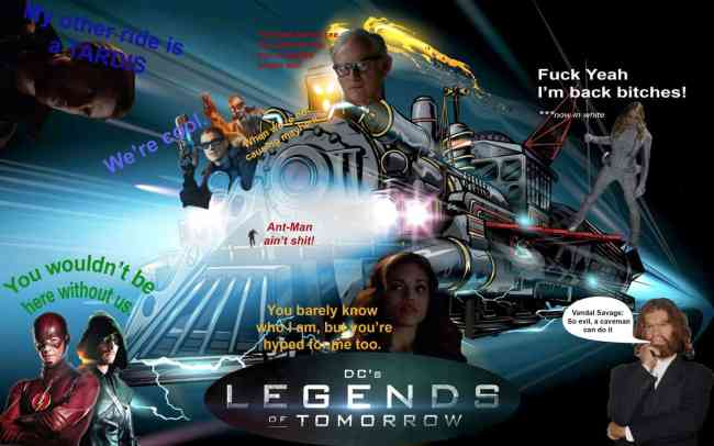 DC's Legends of Tomorrow produced by Arrow showrunner Marc Guggenheim, The CW, Mr. Media Interviews