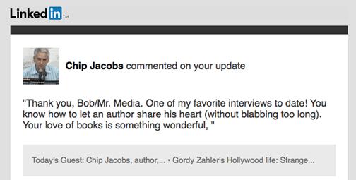 Chip Jacobs, author, Strange As It Seems, Mr. Media Interviews