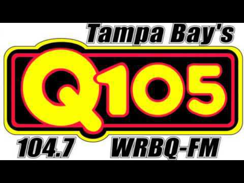 Tampa Bay's Q105 Radio, logo, Q Morning Zoo, Cleveland Wheeler, Scott Shannon, Mr. Media Interviews