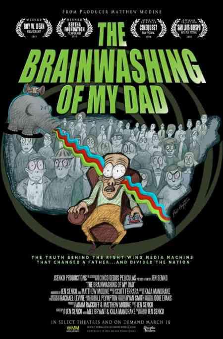 The Brainwashing of My Dad, Jen Senko, documentary filmmaker, right-wing news, conservative news, Mr. Media Interviews