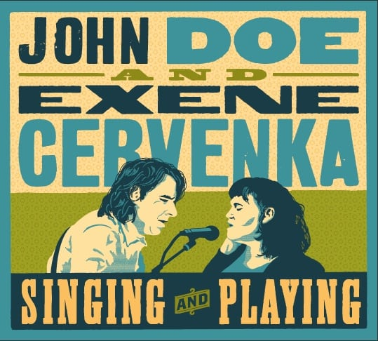 Singing and Playing: John Doe & Exene Cervenka, Mr. Media Interviews