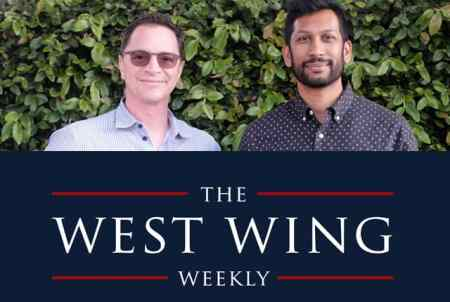 The West Wing Weekly podcast is hosted by Joshua Malina and Hrishikesh Hirway, Mr. Media Interviews