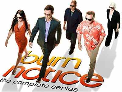 """Burn Notice: The Complete Series,"" DVD, Mr. Media Interviews"