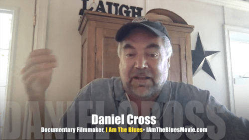 "Daniel Cross, documentary filmmaker, ""I Am The Blues,"" Mr. Media Interviews"