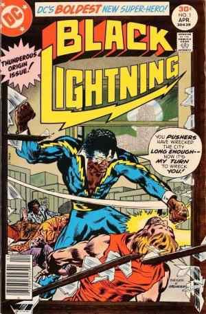 """Black Lightning"" debut comic by Tony Isabella, Mr. Media Interviews"