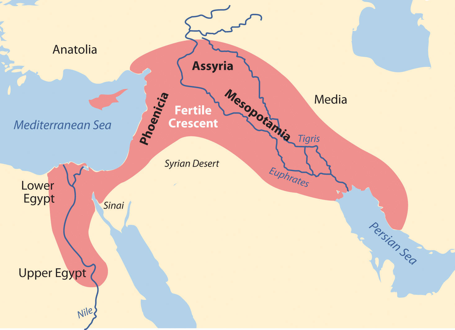 Mesopotamia Empires