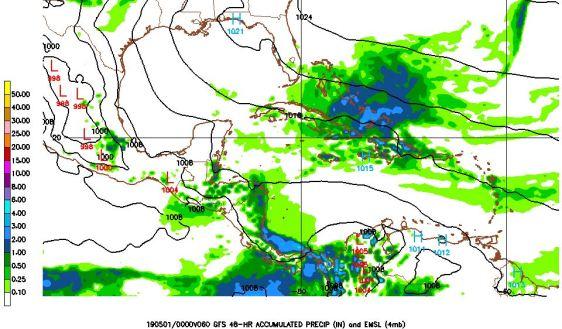 De fortes averses pourraient toucher plusieurs régions du pays aujourd'hui et demain 54