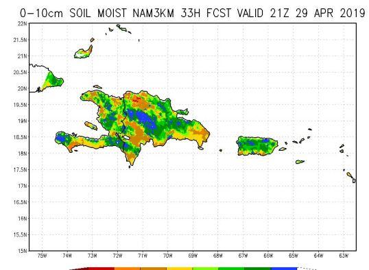 De fortes averses pourraient toucher plusieurs régions du pays aujourd'hui et demain 55