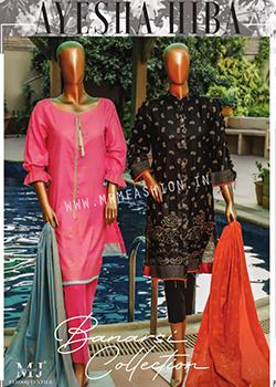 Ayesha Hiba Banarsi Printed Collection - Original