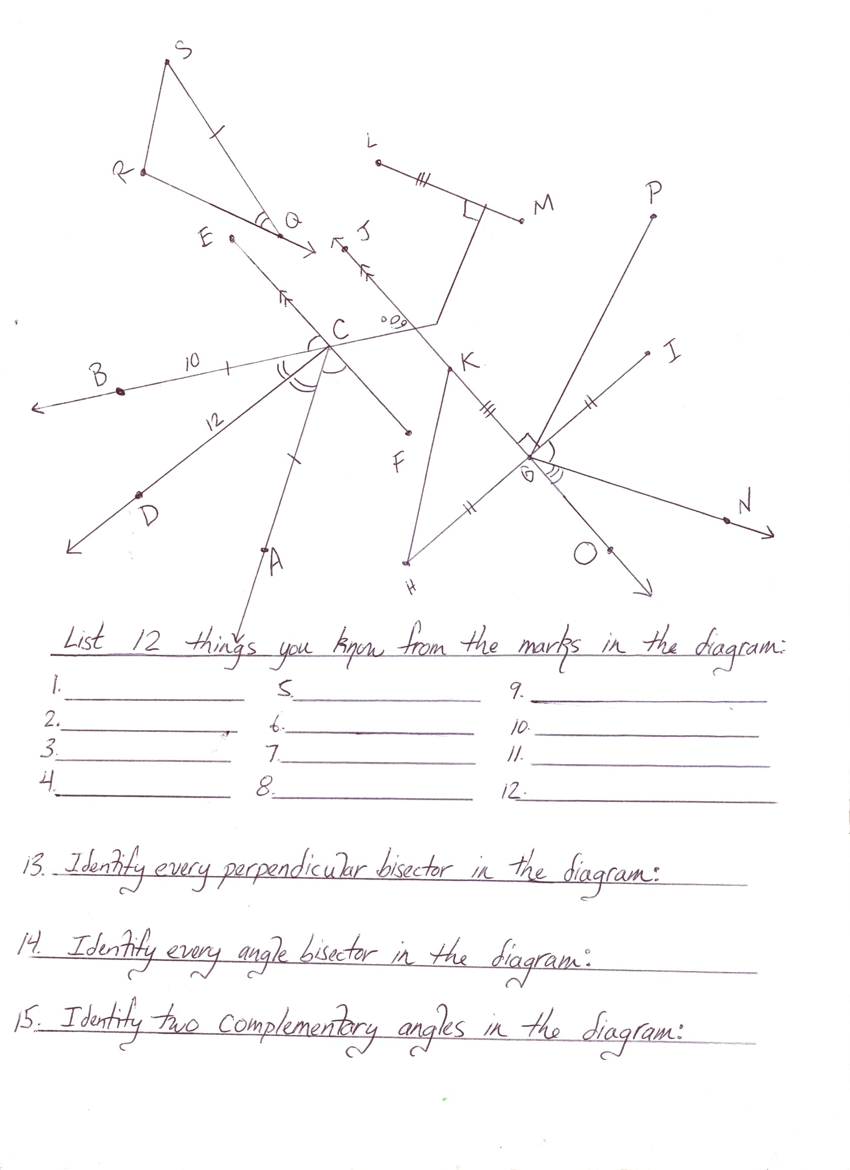 Worksheet Complementary Angle Worksheet Worksheet Fun