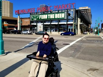 Bill Crowley at the Milwaukee Public Market