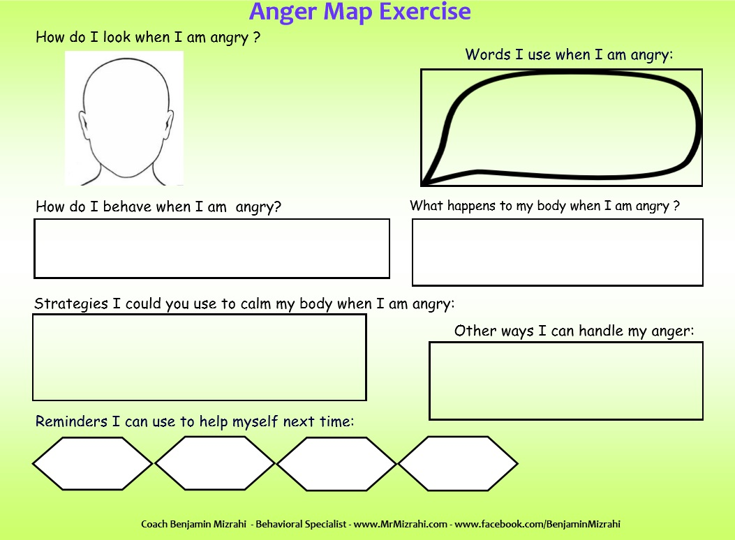 Anger Map Mr Mizrahi S Blog