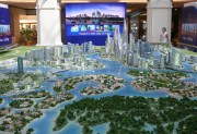 City Model Dubai water