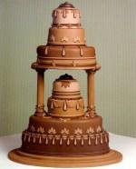 Chocolate Pedestal