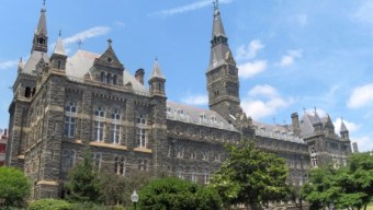No Partisan Gridlock in Love of Georgetown University (VIDEOS)