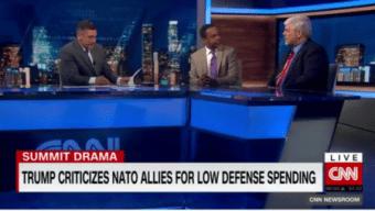 Mo'Kelly on CNN International RE: NATO Summit Implosion (VIDEO)