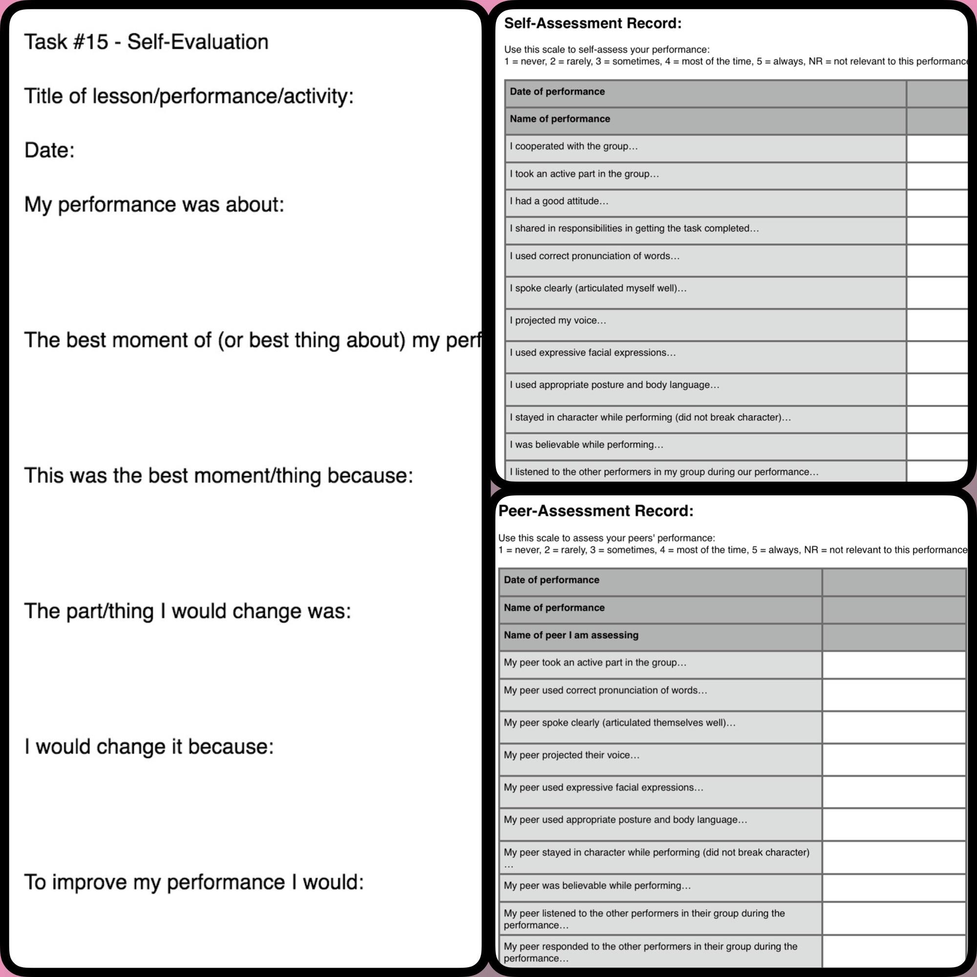 Reflective Essay Presentation Skills