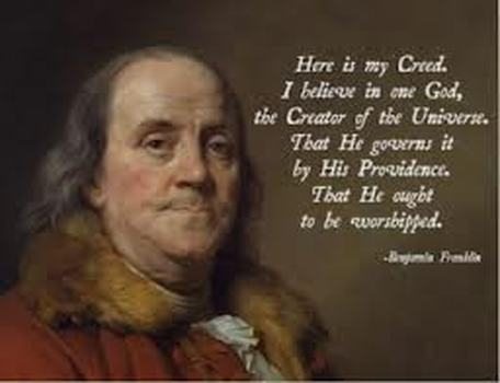 Image result for America's founding fathers believed in a Creator God