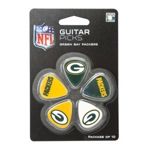WOODROW GREEN BAY GUITAR PICKS