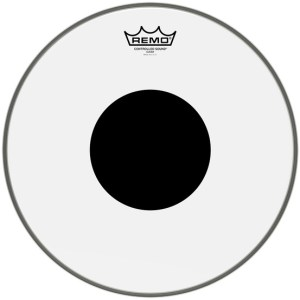 REMO CONTROLLED SOUND CLEAR BLACK DOT