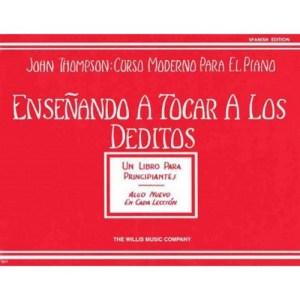 JOHN THOMPSON ENSEÑANDO A TOCAR A LOS DEDITOS