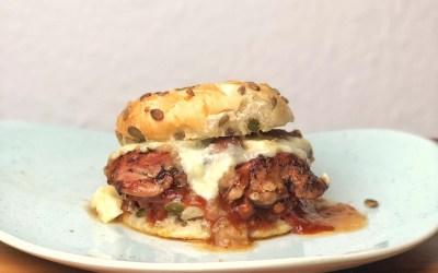 Pollo fino Burger, das beste vom Huhn als Burger