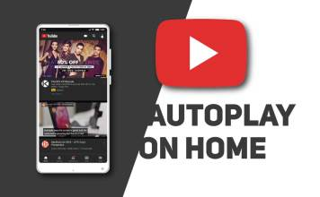 youtube autoplay on home