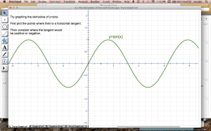 image of the Sine function