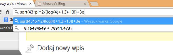 Google Chrome - tips & tricks (1/4)