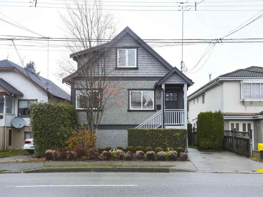 Main Photo: 77 E KING EDWARD Avenue in Vancouver: Main House for sale (Vancouver East)  : MLS®# R2419874