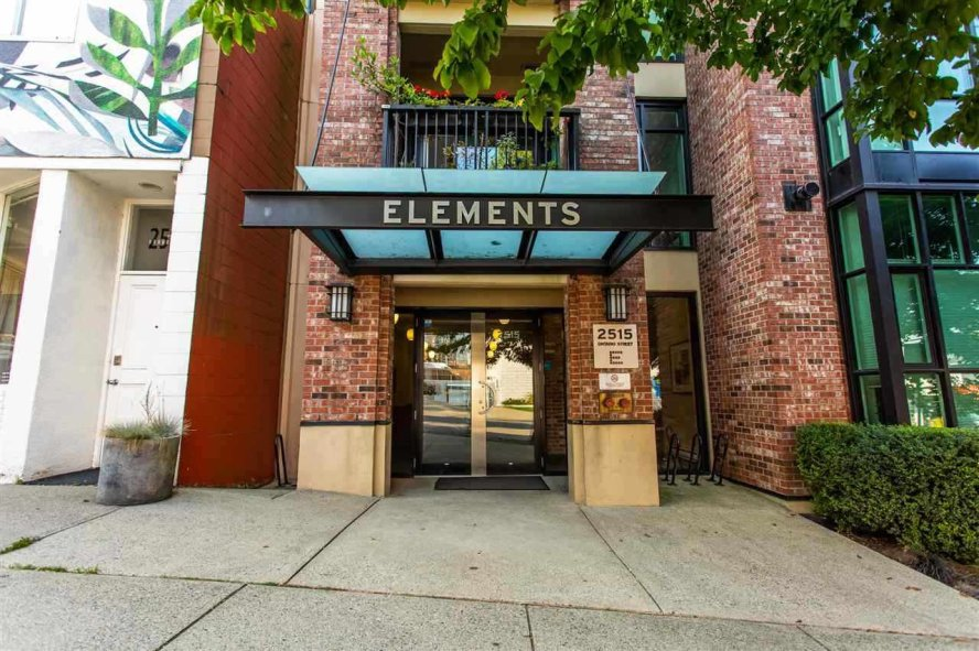 """Main Photo: 407 2515 ONTARIO Street in Vancouver: Mount Pleasant VW Condo for sale in """"ELEMENTS"""" (Vancouver West)  : MLS®# R2528697"""