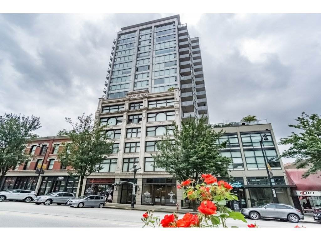 """Main Photo: 712 668 COLUMBIA Street in New Westminster: Quay Condo for sale in """"TRAPP AND HOLBROOK"""" : MLS®# R2178906"""