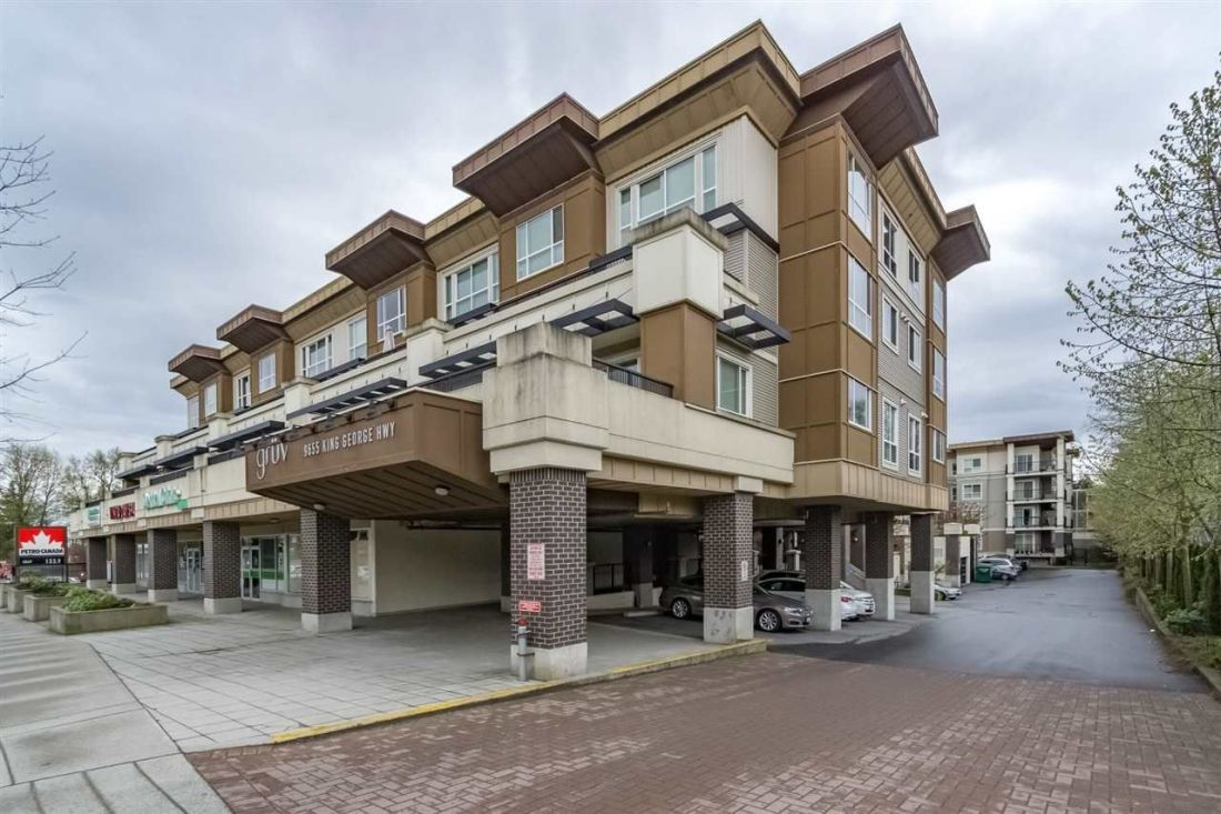 "Main Photo: 223 9655 KING GEORGE Boulevard in Surrey: Whalley Condo for sale in ""The Gruv"" (North Surrey)  : MLS®# R2159457"