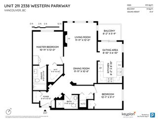 """Photo 20: 211 2338 WESTERN Parkway in Vancouver: University VW Condo for sale in """"WINSLOW COMMONS"""" (Vancouver West)  : MLS®# R2429976"""
