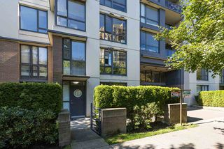Photo 1: 102 3588 CROWLEY Drive in Vancouver: Collingwood VE Condo for sale (Vancouver East)  : MLS®# R2487319