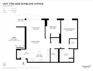 Photo 20: 3706 6638 DUNBLANE Avenue in Burnaby: Metrotown Condo for sale (Burnaby South)  : MLS®# R2357054