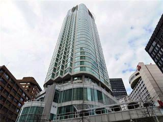 "Photo 1: 3502 1111 W PENDER Street in Vancouver: Coal Harbour Condo for sale in ""VANTAGE"" (Vancouver West)  : MLS®# R2331426"