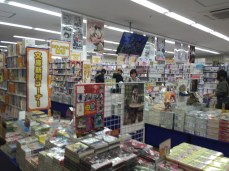 There were seven floors of anime/manga goods!