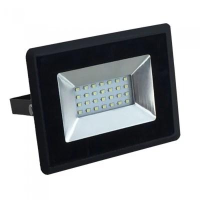 V Tac 6W LED grå væglampe Firkantet, justerbar spredning
