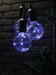 Fairy lights for Christmas decor