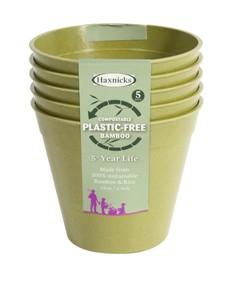 Plastic Free Gardening - Pippa Greenwood Bamboo Pots