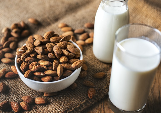 Veganuary: Plant milk, almond milk