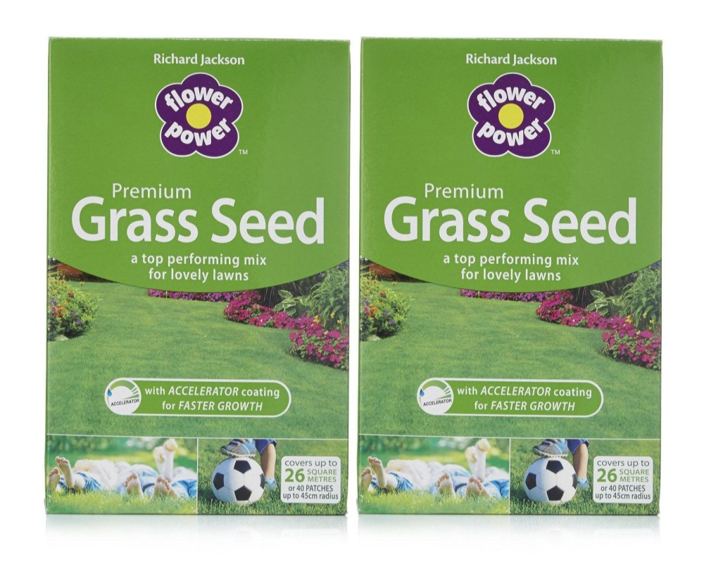 Lawn care: Grass seed