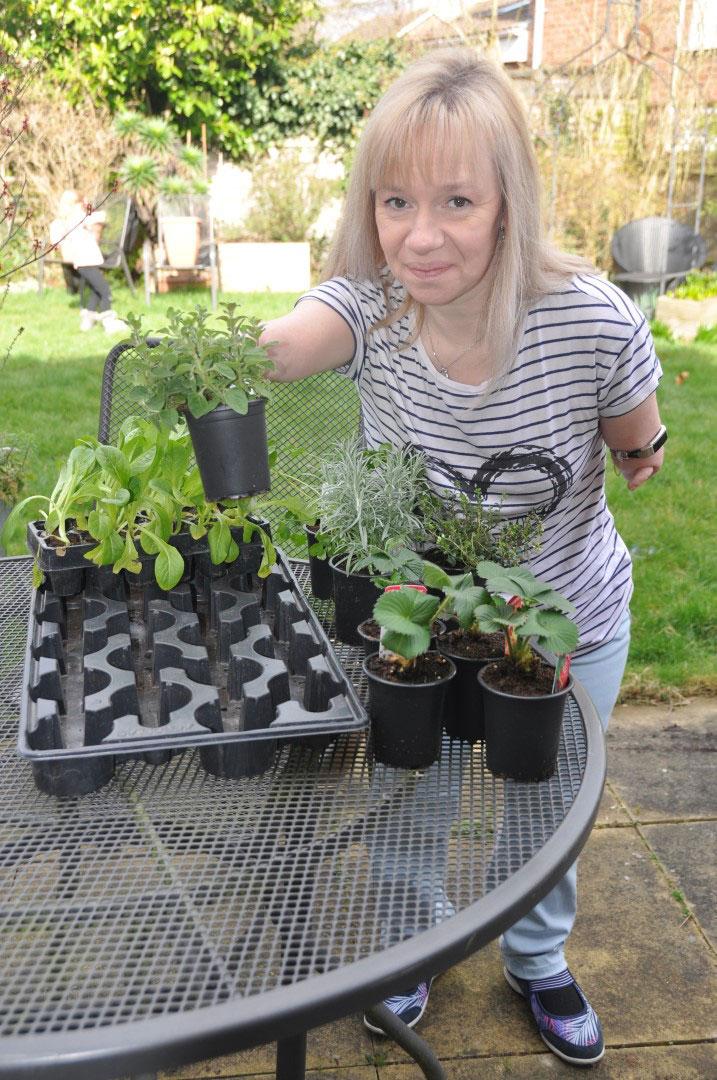 Accessible gardening: The Two Fingered Gardener, Niki Preston