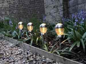 Garden lighting: Stake lighting