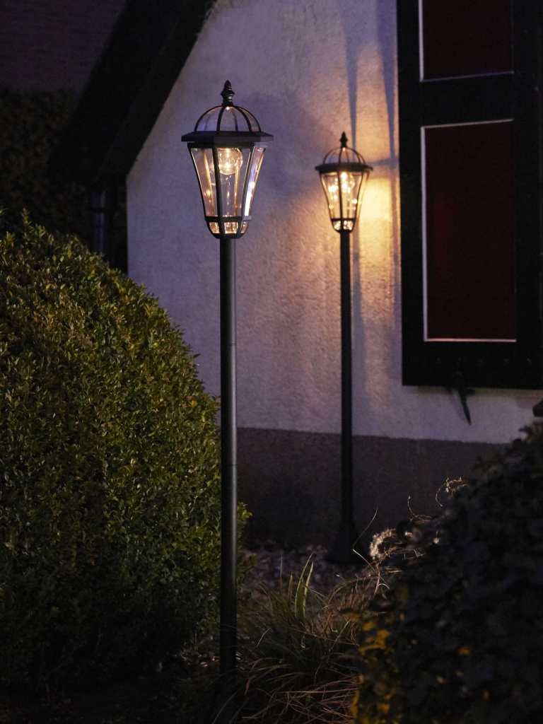 Luxform Lamppost on QVC