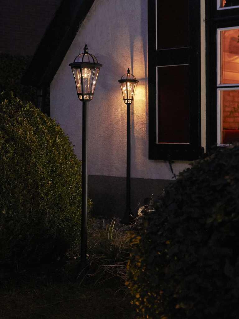 Luxform Lamppost on QVC